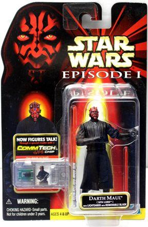 "Star Wars (Episode-I Comm Tech Chip) The Phantom Menace (Feature Film Movie Vintage Collection Series) ""Rare-Vintage"" (1996-1999)"