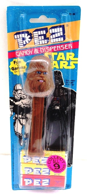 "Star Wars The Power Of The Force (""Pez Dispenser w/candy Exclusive Collectors Edition"") Pez Vintage Collection ""Rare-Vintage"" (1997)"