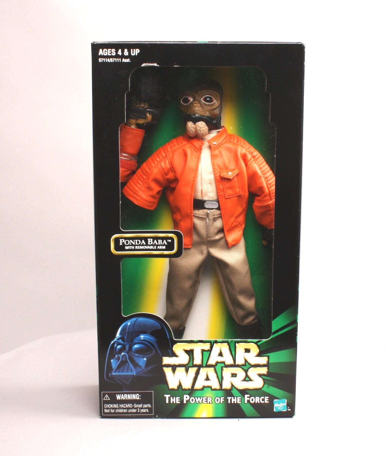 "Ponda Baba Variety Star Wars Kenner POTF 2 Action Collection 12/"" Han Solo"