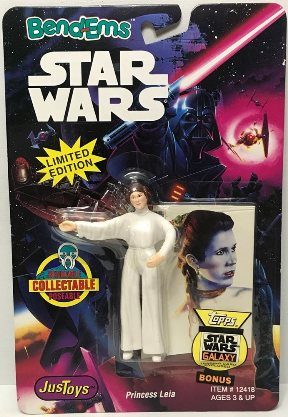 "Star Wars (Bend-Ems ""Limited Edition With Topps Collectors Trading Cards"" Vintage Collection Series) ""Rare-Vintage"" (1993)"