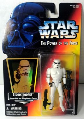"Star Wars The Power Of The Force II (Red Cards ""Holographic"") Kenner Vintage Collections-1, 2 & 3) ""Rare-Vintage"" (1995-1997)"