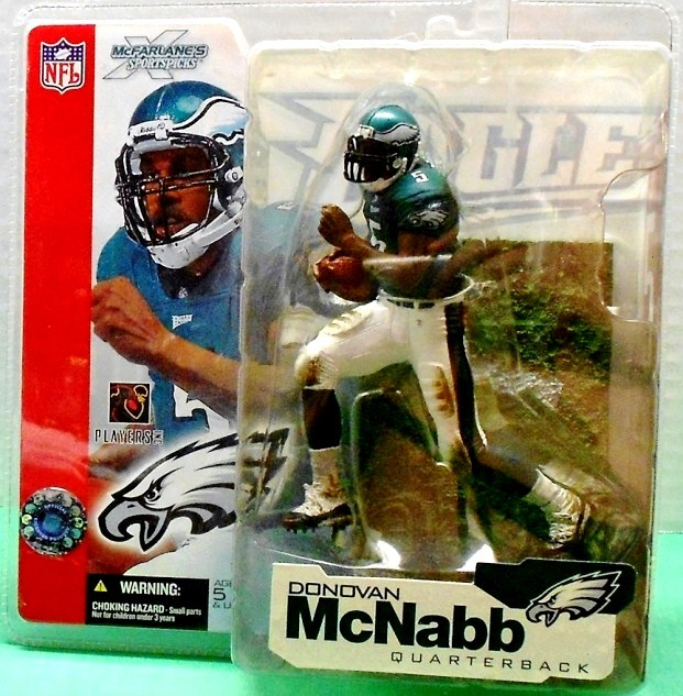 McFarlane Toys NFL Series Eagles Donovan McNabb Variant Action Figure NEW 2002