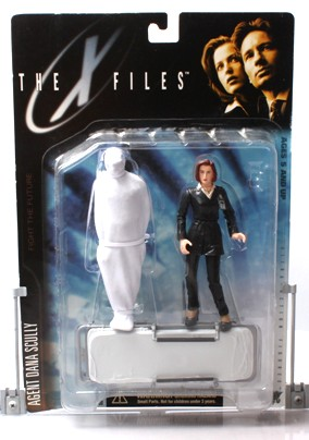 Agent Dana Scully (suit & corpse) UPC-787926161021-1