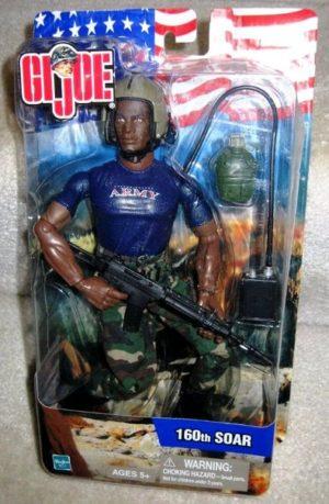 G.I. Joe Army 160th SOAR AFRICAN AMERICAN