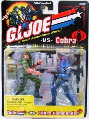 G.I. Joe Duke vs. Cobra Commander (2)