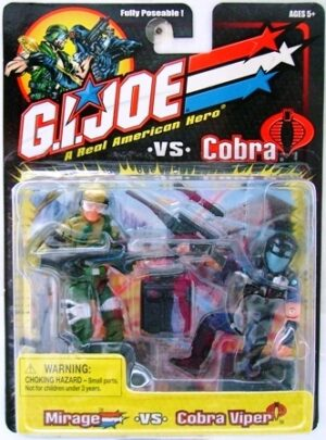 G.I. Joe Mirage vs. Cobra Viper