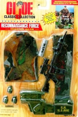 G.I. Joe Reconnaissance Force 12 Inch-Camouflage Mission Gear (1) - Copy