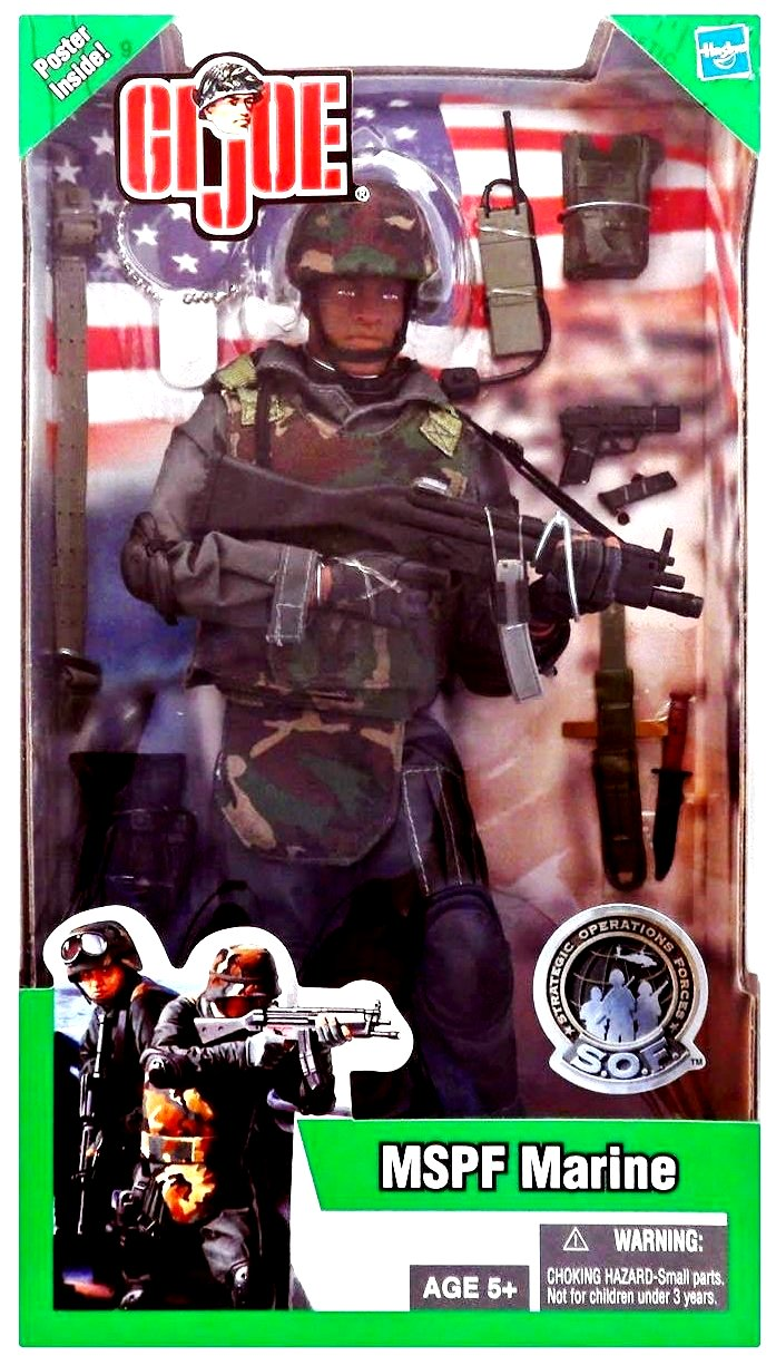 GI JOE MSPF MARINE – STRATEGIC OPERATIONS FORCES-1 - Copy