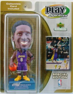 """Kobe Bryant 2001 All Star """"Lakers #8 Purple Uniform-Blue Base Special Edition"""" (Upper Deck Play Makers Collection Series) """"Rare-Vintage"""" (2001)"""