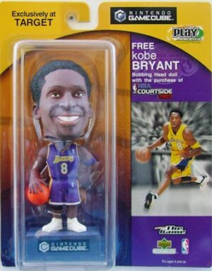 """Kobe Bryant 2002 Exclusive """"NBA Courtside-Nintendo Gamecube Lakers #8 Purple Uniform-Blue Base"""" (Upper Deck/Target Play Makers Collection Series) """"Rare-Vintage"""" (2002)"""