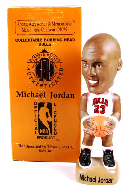Michael Jordan Limited Edition Bobble Sam Inc 1994-0