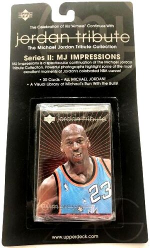 Michael Jordan UPPER DECK Jordan Tribute MJ Impressions Series-II 1997-0