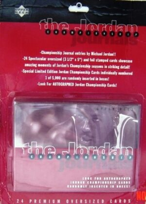 Michael Jordan Upper Deck The Jordan Championship 24-Card Set 1997