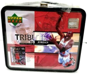 """Michael Jordan """"Upper Deck Lunch Box Tribute to Jordan 1998/99 NBA Basketball w/Limited Edition 30-Card Set"""" (Upper Deck Authenticated Collectibles) """"Rare-Vintage"""" (1999)"""