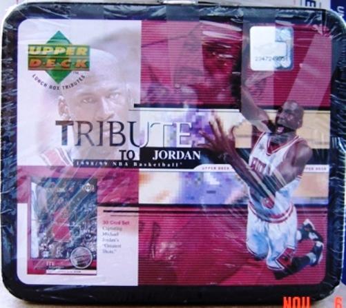 Michael Jordan (Upper Deck Tribute to Jordan Lunch Box) 30-Card Set