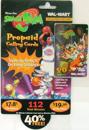 Space Jam Michael and Team Card