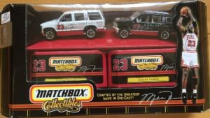 "Matchbox Collectibles (""Inaugural Edition (Box Set) Michael Jordan"") Collectible Diecast 1:64 Scale Series) ""Rare-Vintage"" (1997)"