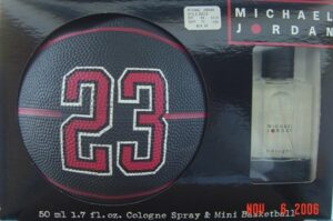 michael jordan 23 cologne spray And Mini Basketball