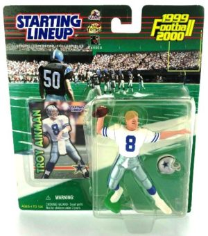 1999-2000 Troy Aikman Starting Lineup - Copy
