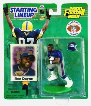 2000-2001 Ron Dayne (Rookie, 1st Piece) - Copy