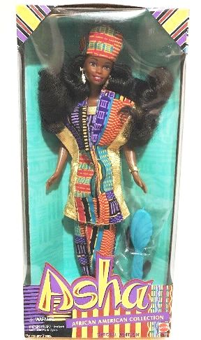 Barbie Asha African American Collection Doll