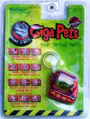 Giga Pets (Baby T-Rex) Red