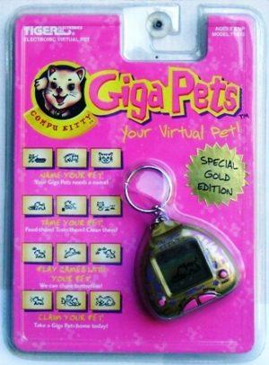 Giga Pets (Compu Kitty) Gold SE TRU