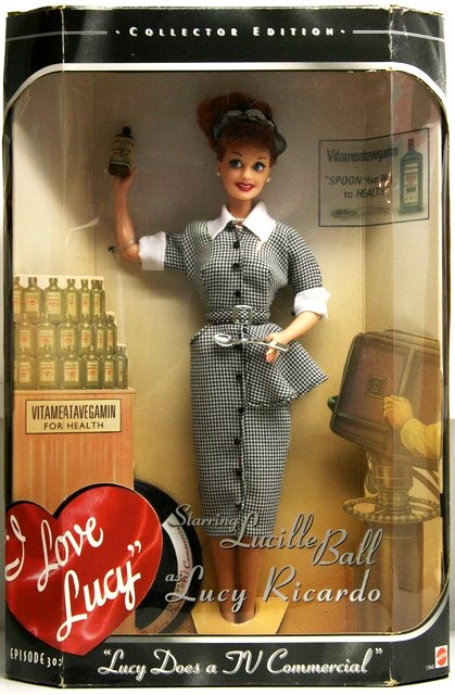 I Love Lucy Barbie00