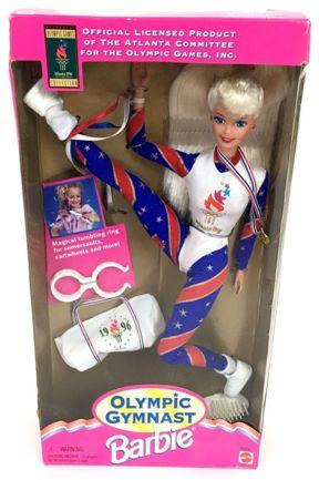 Olympic Gymnast Barbie (Blonde)