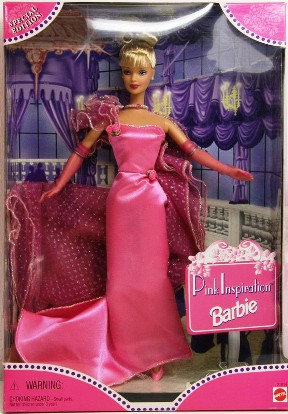"Pink Inspiration Barbie ""Blonde"""