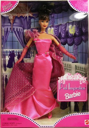 "Pink Inspiration Barbie ""Brunette"""