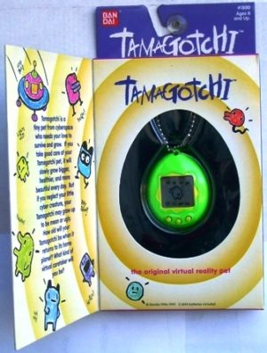 TAMAGOTCHI (Original ) Green 1996 - Copy