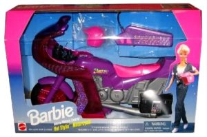 Barbie Hot Stylin Motorcycle