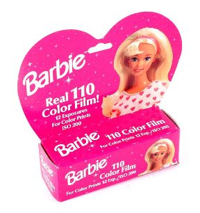 Barbie Real 110 Color Film ISO 200