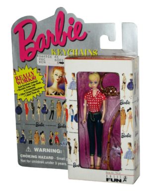 Basic Fun (Barbie-Keychain)-Picnic Barbie-00
