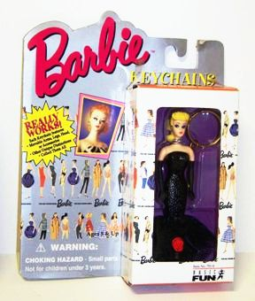 Basic Fun Barbie Keychains Solo In The Spotlight Barbie-A