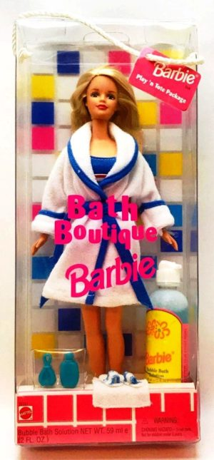 Bath Boutique Barbie (Blonde)-A - Copy