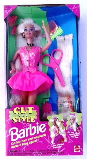 Cut and Style Barbie