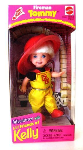 Fireman Tommy (Adventures With Li'l Friends Of Kelly)-A (0)