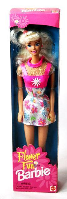 Flower Fun Barbie (Blonde)-1996-0 - Copy