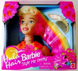 Hula Hair Barbie (Style Me Pretty)-1997 - Copy