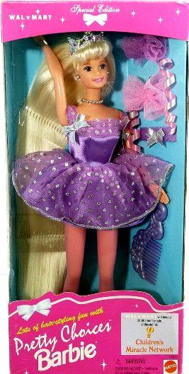 Pretty Choices Barbie (Blonde)-01a