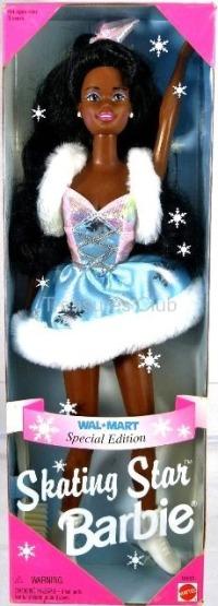 Skating Star Barbie (African American)-0