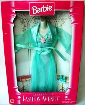 Barbie Fashion Avenue Green Lingerie-1 - Copy