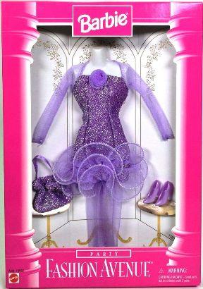 Barbie Lavender Party Dress
