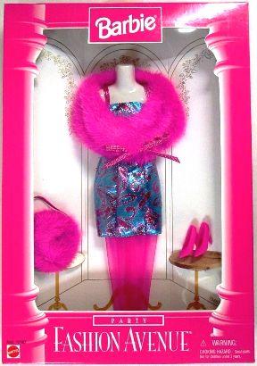 Barbie Fashion AvenueTurquoise Party dress - Copy