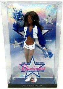Dallas Cheerleader Barbie (African American) - Copy