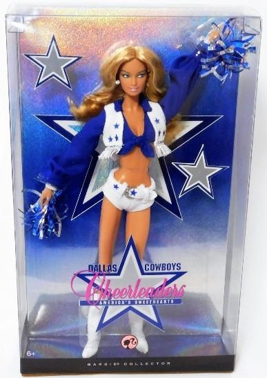 Dallas Cheerleader Barbie (Blonde) - Copy