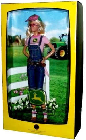 Mattel Barbie John Deere-1