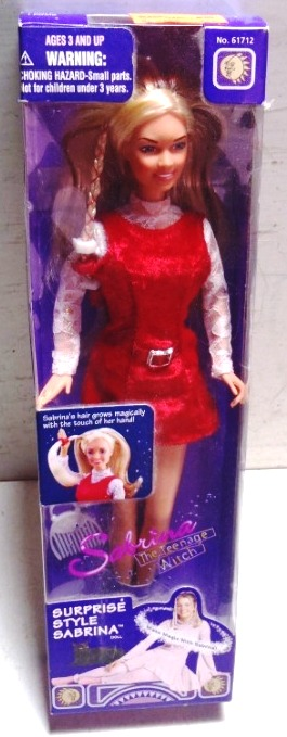 Sabrina The Teenage Witch Doll 1997-3